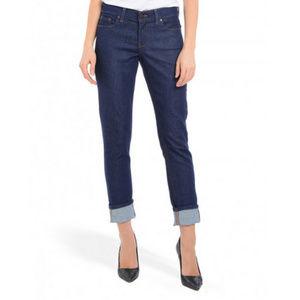 Mott & Bow 'Boyfriend' Slim Laight Dark wash Jeans